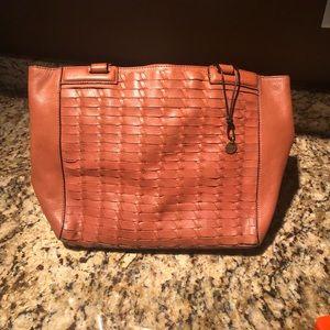 The Sak Collective Brown Leather Hobo Handbag